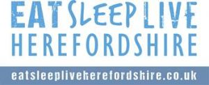 Eat Sleep Live Herefordshire Logo