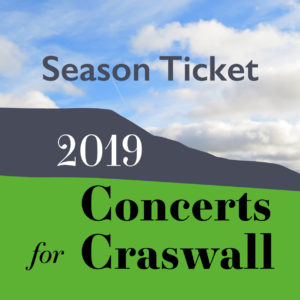 Graphic for Concerts for Craswall 2019 Season ticket