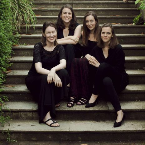 The Eusebius Quartet who are playing forConcerts for Craswall in July 2020