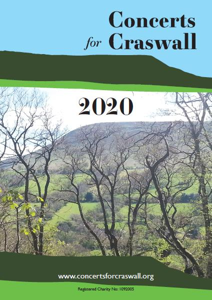 Concerts for Craswall 2020 Music Programme