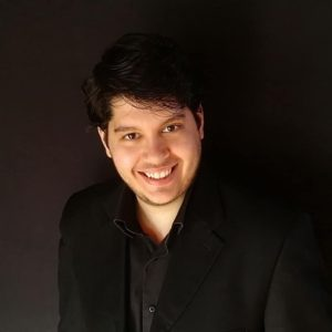 A photo of Greek conductor Dimitris Spouras
