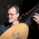 Musician Arngeir Hauksson a member of Amyas and specialist in historical plucked instruments from the medieval, renaissance and baroque periods