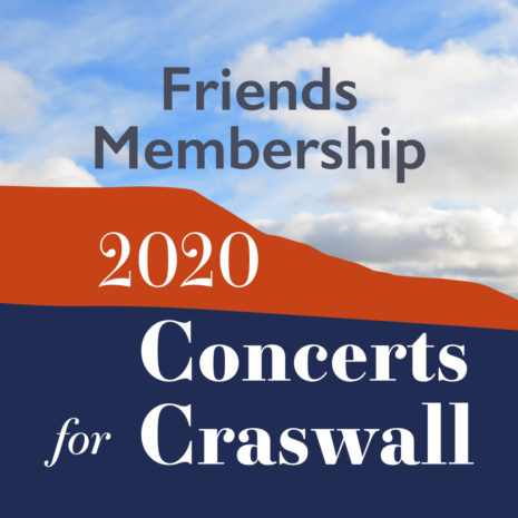 Concerts for Craswall Friends Subscription 2020