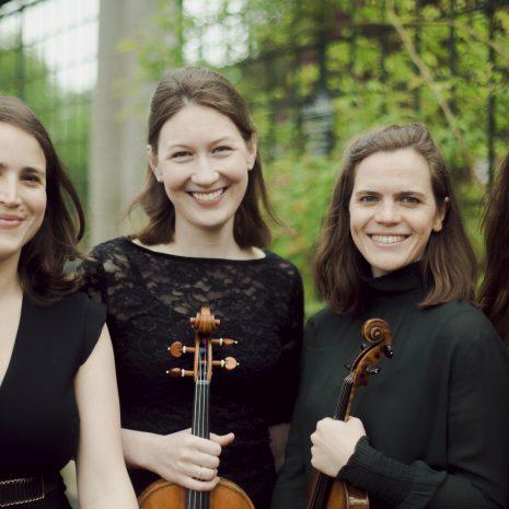 a photograph of The Eusebius Quartet