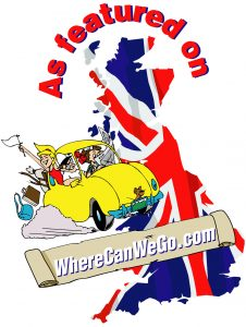 The logo for website Where Can We Go